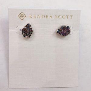 Kendra Scott Tessa Studs in Silver and Multicolor